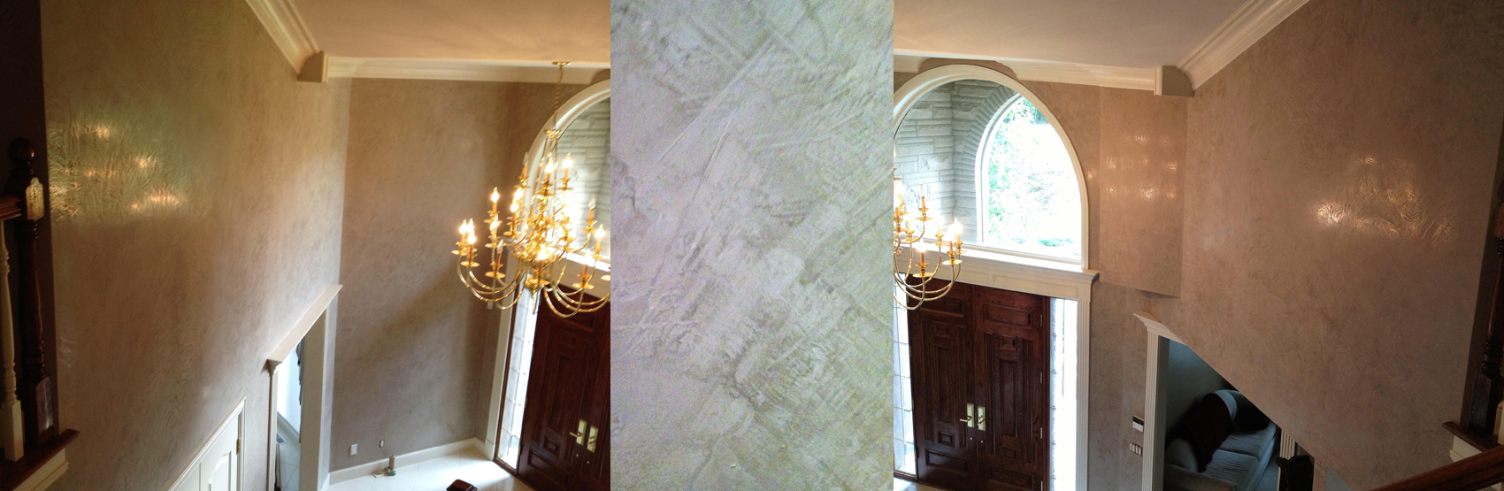 Faux Finish Venetian Plaster Painting In Birmingham Michigan
