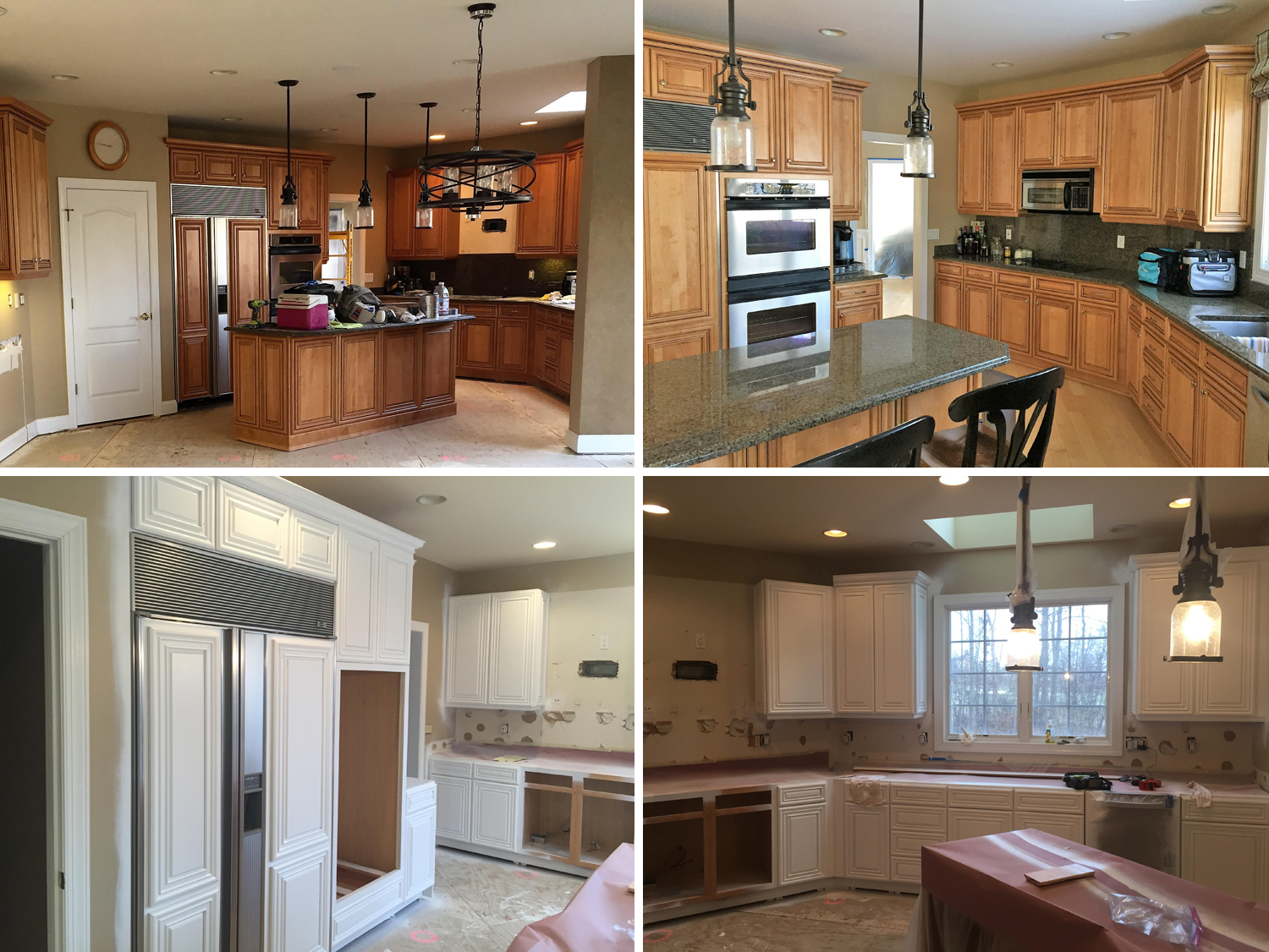 Kitchen Cabinet Refinishing Macomb Twp Michigan