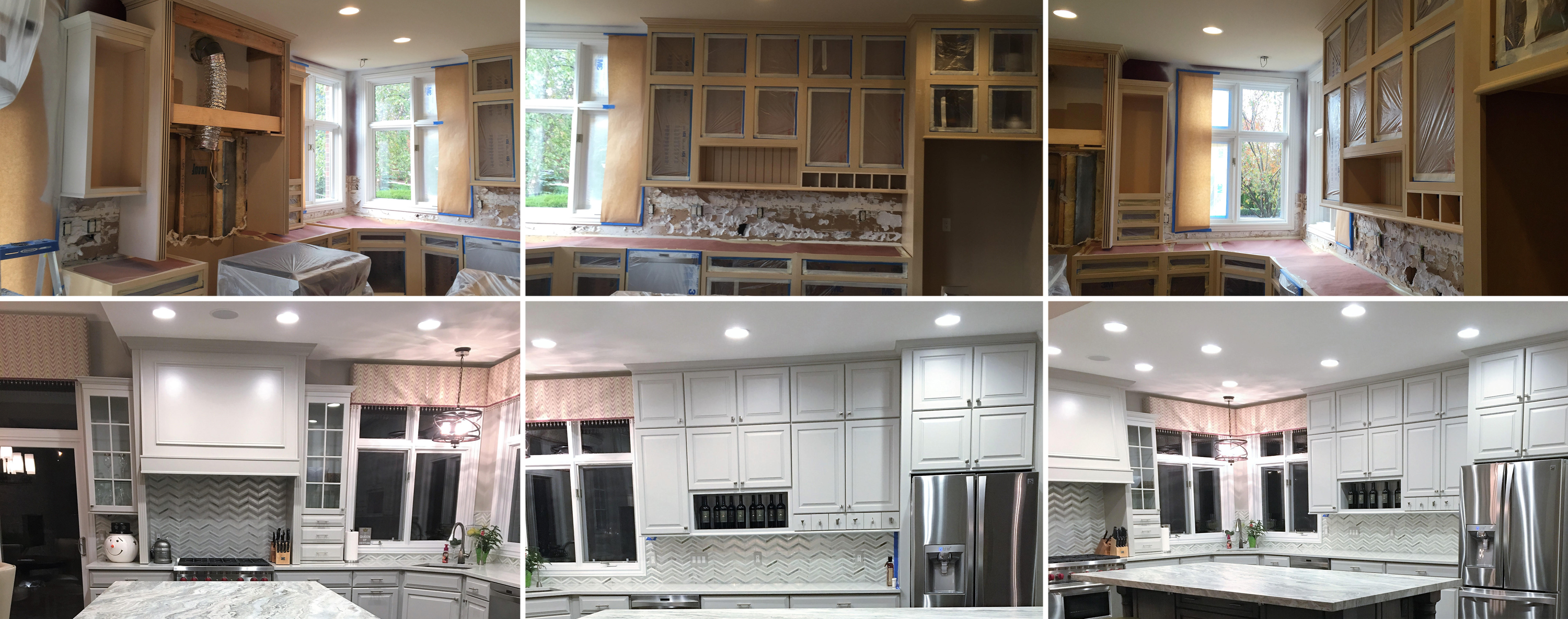 Kitchen Cabinet Refinishing Washington Township Michigan