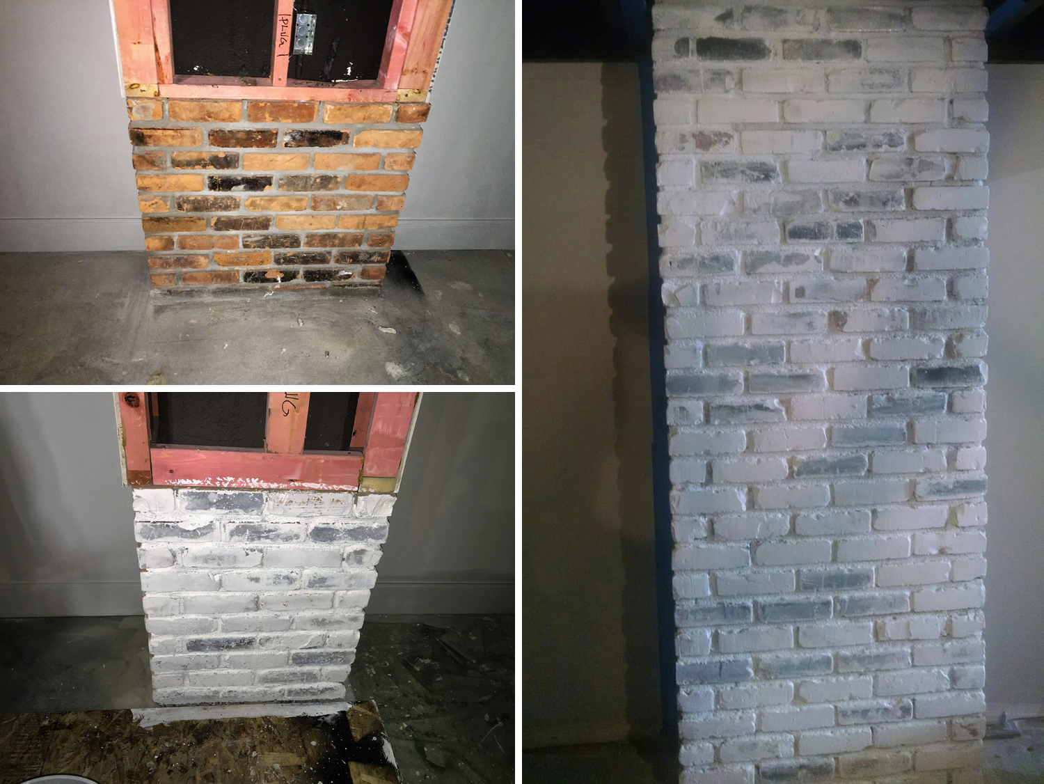 White Washing Brick Painting Shelby Township Mi