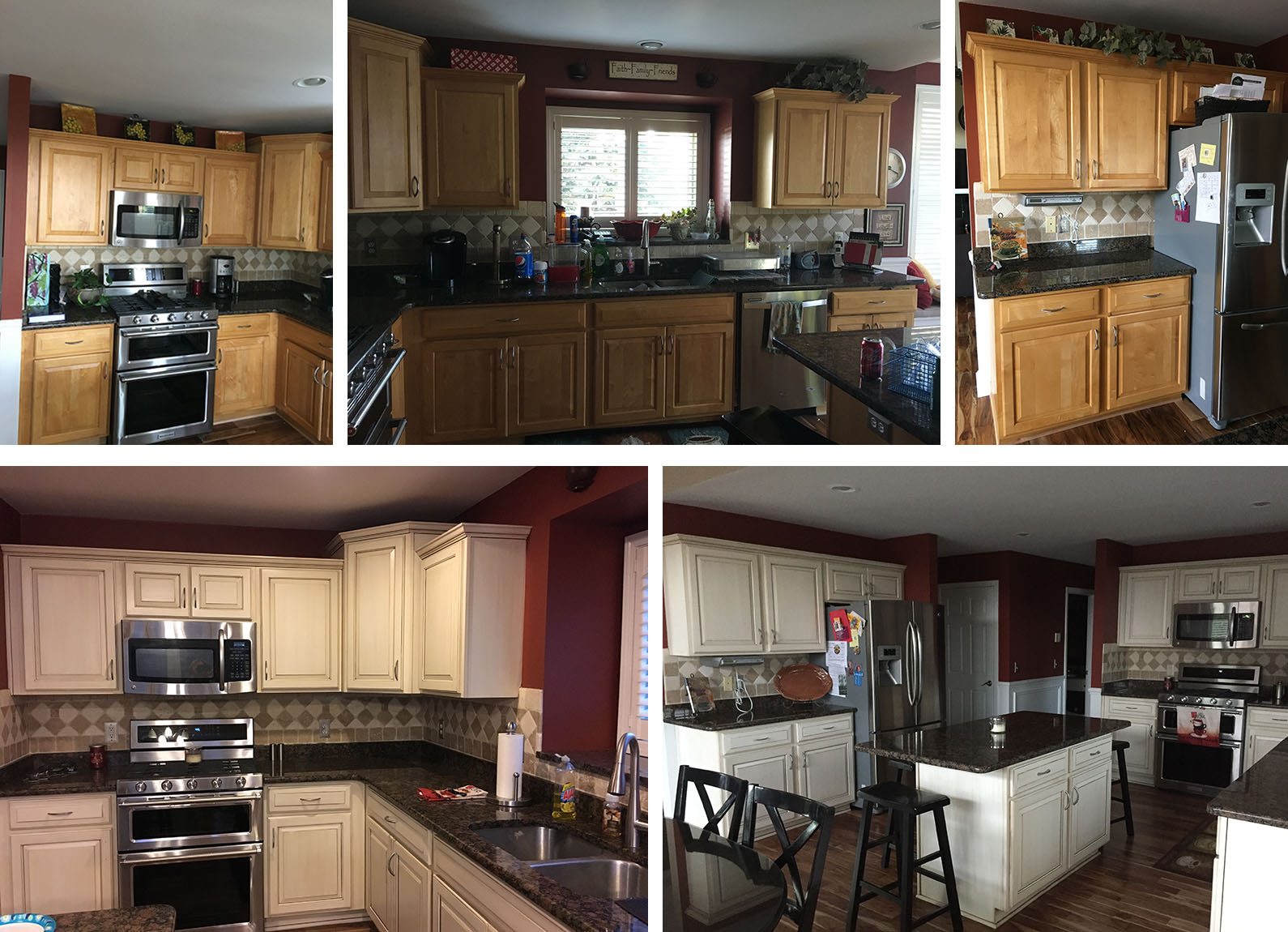 Kitchen Cabinet Refinishing in Macomb Township Michigan